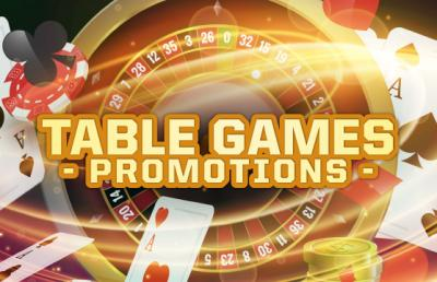 Table Games Promotions